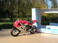 BURAGO 1/18 MOTO MV Agusta F3 !!!