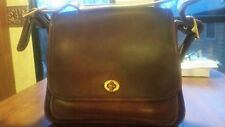Coach No H8C 9061 Vintage Brown  Leather Classic Crossbody Shoulder Handbag
