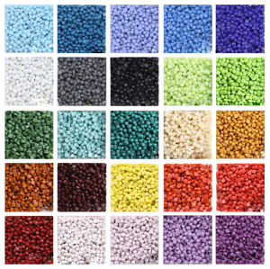 Mini Glass Mosaic Tiles Crafting Pieces Art Hobbies Material Assorted Colors Mix
