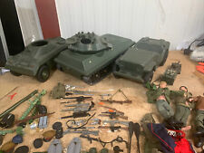 Large Joblot Of Military Action Man Figures, Clothing, Accessories And Vehicles