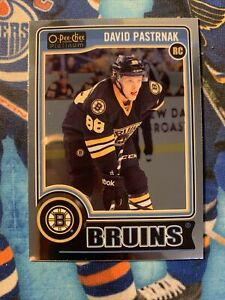 2014-15 O-Pee-Chee Platinum David Pastrnak Rookie RC