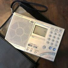 Sony ICF-SW7600GR AM FM Shortwave Radio World Band Receiver With Case