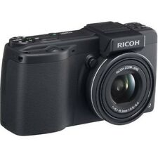 USED Ricoh Caplio GX200 12.1 MP Digital Camera - Black Excellent FREESHIPPING