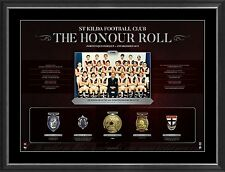 St Kilda VFL Honour Roll with Medallions Print Framed - OFFICIAL 1966 PREMIERS