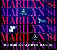 Marilyn Monroe 1984 Pinup Calendar Milton Greene Promo Photo Publicity VG/EX