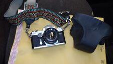 Ricoh Singlex TLS 35mm Camera with Rikenon 55mm Lens - Storage Case&Straps