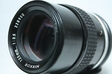 Nikon NIKKOR 135mm f3.5 Ai MF Lens with filter from Japan Excellent++++!!!