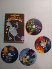 Futurama - Volume 4 (DVD, 2009, 4-Disc Set, Full Frame)