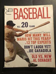 1962 Baseball New York Yankees ROGER MARIS Mickey MANTLE 20 Team Preview BROOKS