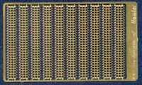 Hauler Models 1/87 MARSTON MATTING PERFORATED STEEL PLATES Photo Etch Set