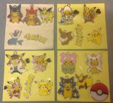 """"""" """"Lot de 20 X Pokemon Pikachu ton argent métal émail CHARMS pendentifs (N5)"""""""""""