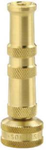 """Green Thumb 80114-GT 4"""" Brass Twist Nozzle"""
