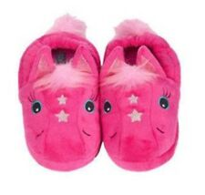 Stride Rite Toddler Girl's Fuchsia Magic Pony Slippers - S 7/8 - NEW W TAGS
