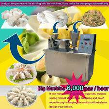100mm size automatic dumpling making machine for samosa spring roll empanada