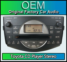 Toyota RAV4 radio stereo CD player MP3 WMA, Toyota 86120-42140 58826 head unit