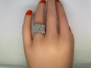 Diamond Cluster Ring 2.16cttw VS1-I1 Clarity E-H 14kt Yellow Gold Size 7.25