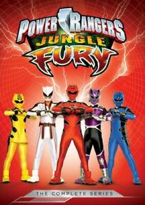 POWER RANGERS: JUNGLE FURY - COMPLETE SERIES NEW DVD