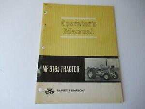Massey Ferguson MF3165 MF 3165 tractor operator's manual factory original