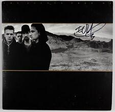 U2 Edge Joshua Tree Signed Autograph Beckett BAS Record Album Vinyl