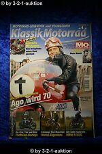 Klassik Motorrad 4/12 MV Agusta Dreizylinder BMW R 50 S Yamaha FZ 750 Harley
