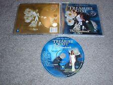 Treasure Quest The Soundtrack Audio CD Jody Marie Grant Music Disc 1995 Sirius