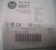 Allen-Bradley Red Pilot Light 800T-PDTH16R  60 day warranty - nib