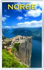 NORGE FRIDGE MAGNET SOUVENIR IMÁN NEVERA NORWAY