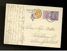 1938 Jonkoping Sweden PS postcard Cover