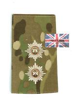 PAIR Multicam MTP Irish Guards Lieutenant RANK SLIDES