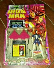 "Iron Man Marvel Comics: SPIDER-WOMAN 5"" Figure with Psionic Web Hurling Action!"