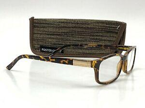 Foster Grant Boston Tortoise Brown Reading Glasses Readers Various Strength