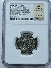NGC AU 4/5, 4/5 Probus BI Aurelianianus. Serdica Mint