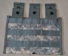 ~NEW~ Triple Mag Pouch 30-Round ACU CAMO GENUINE US MILITARY M4 AK SKS M14