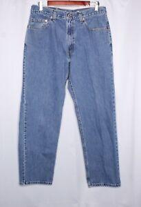 Levis 550 Blue Jeans Mens Size 35 x 30