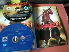 Devil May Cry 3: Dante's Awakening PS2 PAL special contains Monster Hunter demo