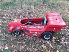 Rare vintage Budweiser #1 go kart Parade car Red Indy car style