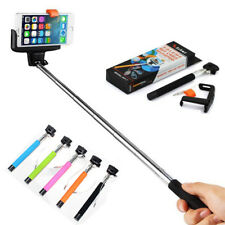 Wireless Mobile Phone Monopod Selfie Stick for Android iOS Z07-5 Orange