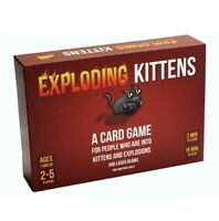 EXPLODING KITTENS Card Game, Card Games for Adults, Teens and Kids,Brand New