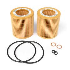 Pair Oil Filter Gasket Kit For BMW 3 5 series 11427566327