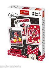Minnie Disney mazzo di 25 carte da gioco Bambini classico Peter Nero