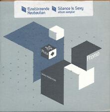 Einsturzende Neubauten Silence is Sexy RARE promo CD sampler '00 (SEALED)