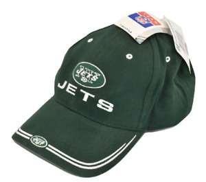 NFL Team NY New York Jets One Size Hat Ball Cap Green Jet Embroidered Brand New