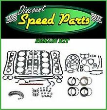 Enginetech Engine Rebuild Re-Main Kit for 69-83 Ford 302 5.0L Rod Main Bearings