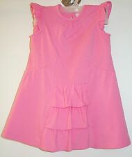 NWT Hanna Andersson Bella Pink Dress & Matching Diaper Cover Size 80 10-24M