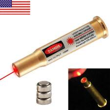 CAL 30-30 WIN Bullet Shaped Red Dot Laser Cartridge Bore Sighter Brass Boresight