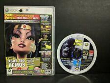 Offical Xbox Game Disc #53 King Kong Original Xbox & Xbox 360 Demo Disc