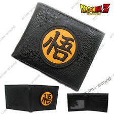 Dragon Ball Z DBZ Bifold Wallet Cosplay Son Goku Anime Leather Wallets Gift NWS