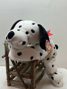 TY Pillow Pals Spotty The Dalmatian W/Tag Retired   DOB: 1997    RARE MISSPELLED