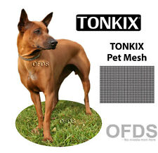 TONKIX flyscreen screen mesh sample  dog pet paw scratch fly bug insect mosquito