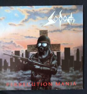 SODOM Persecution Mania LP WHITE Original 1987 Rar Near Mint Thrash Metal